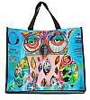 owl shopping bag
