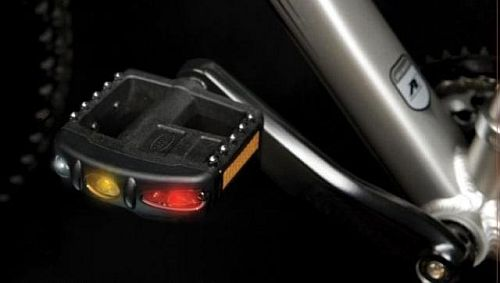 Flashing Pedlite Bike Pedals