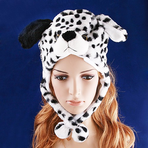 Cute Dalmation Hat & Earmuffs