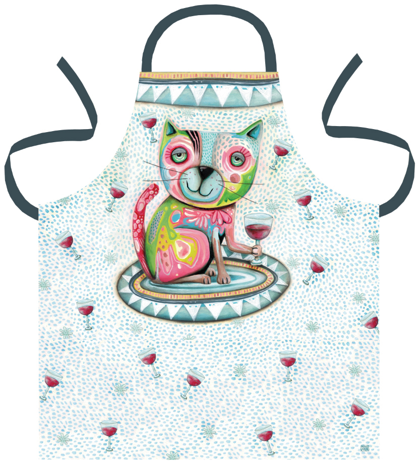 Apron-Cat-Wine