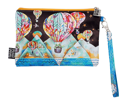 Balloon Wristlet Bag