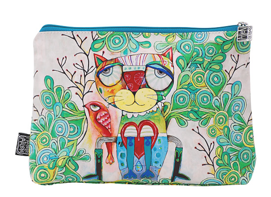 Cat Cosmetic Bag