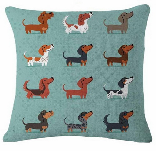 Dachshunds By The Dozen (1)