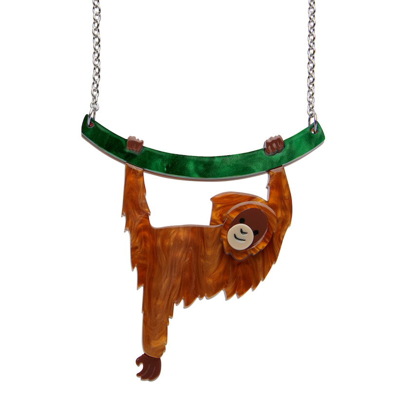 Hold On Louie Orangutan Necklace