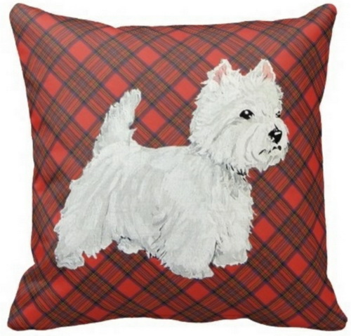 Scottie on Tartan