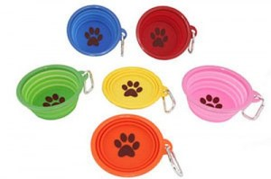 portable doggy bowls