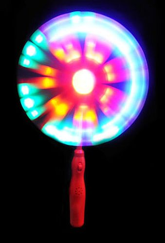 LED Spinning Windmill